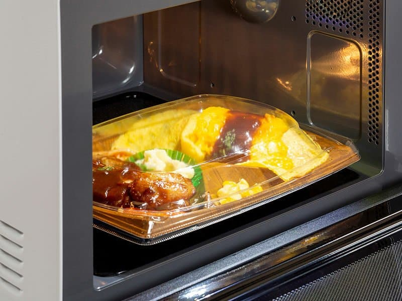 Cover Dish Microwave