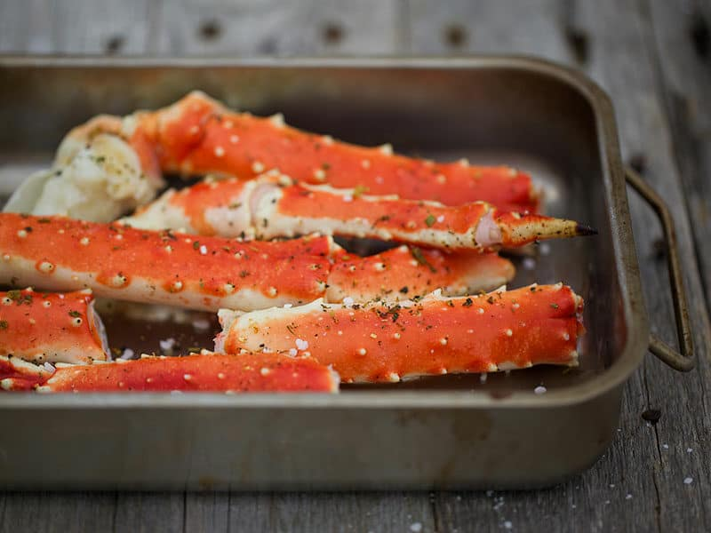 Crab Legs Dishes