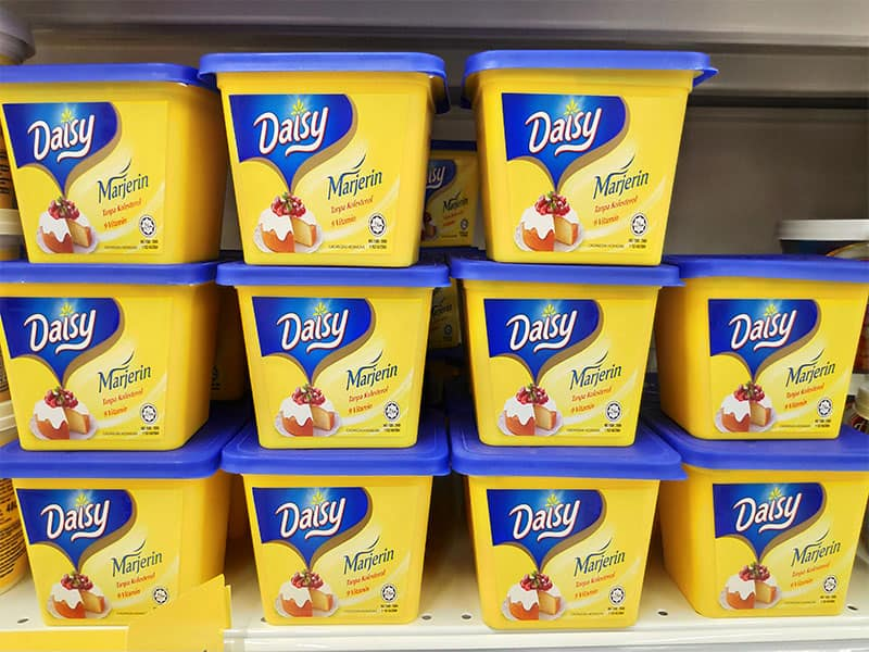 Daisy Margarine Containers
