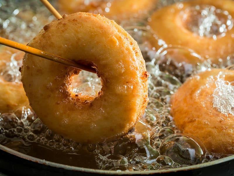 Donut Boiling Oil