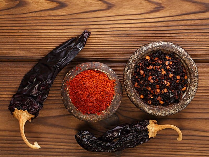 Dried Smoked Peppers