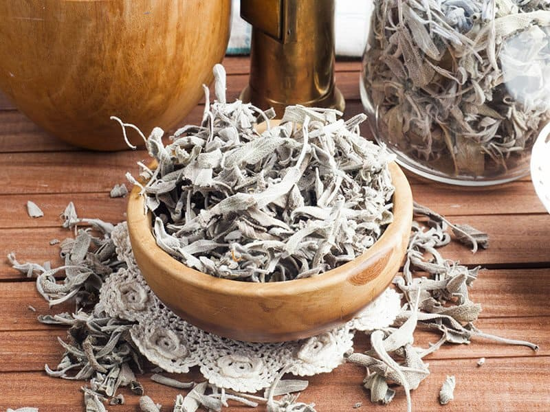 Dry Sage Tea