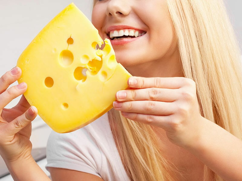 Eating Cheese Relieves Stress
