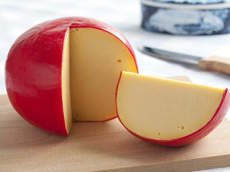 Edam Cheese Piece