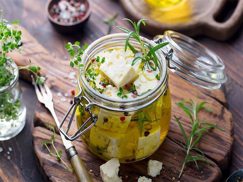 Feta Cheese Marinated