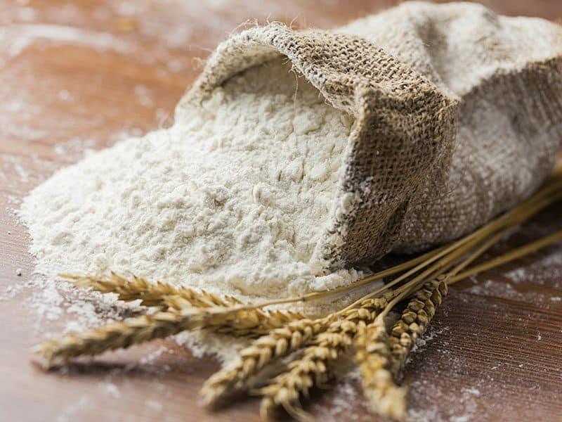 Flour Wheat Closeup