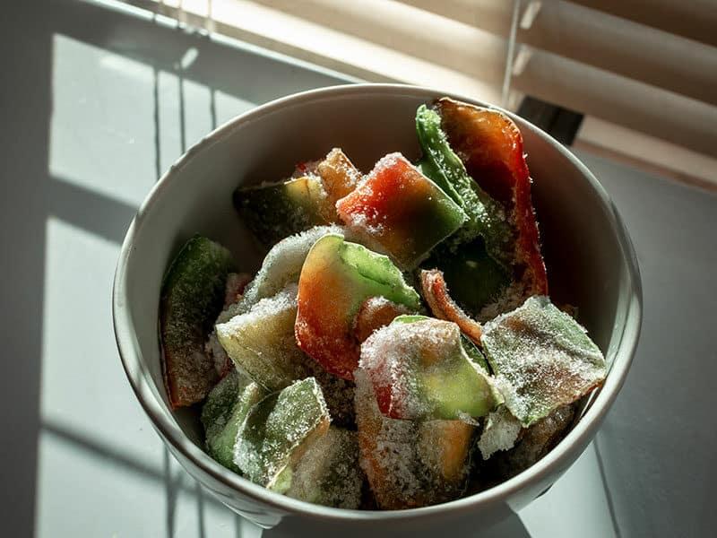 Freeze Egg Salad