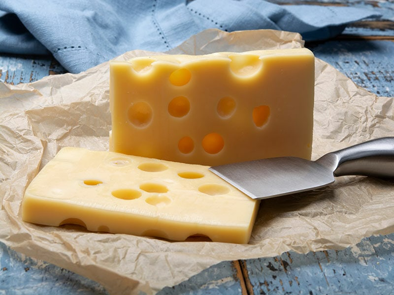 French Emmental Semihard Cheese