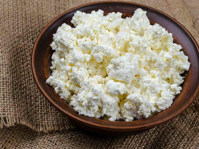 Fresh Cottage Cheese Brown