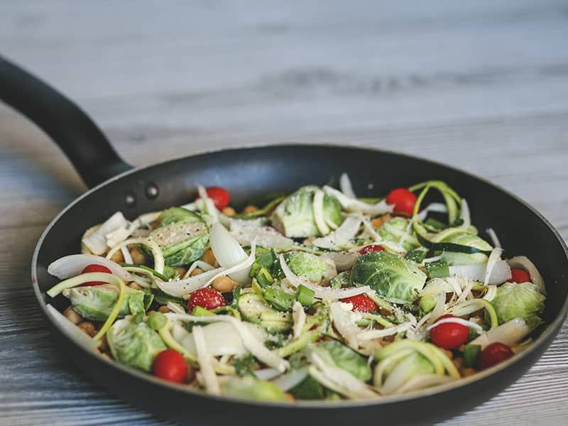 Fry Brussels Sprouts
