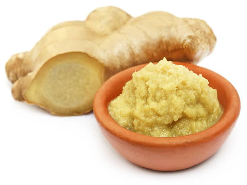 Ginger Form Of Paste