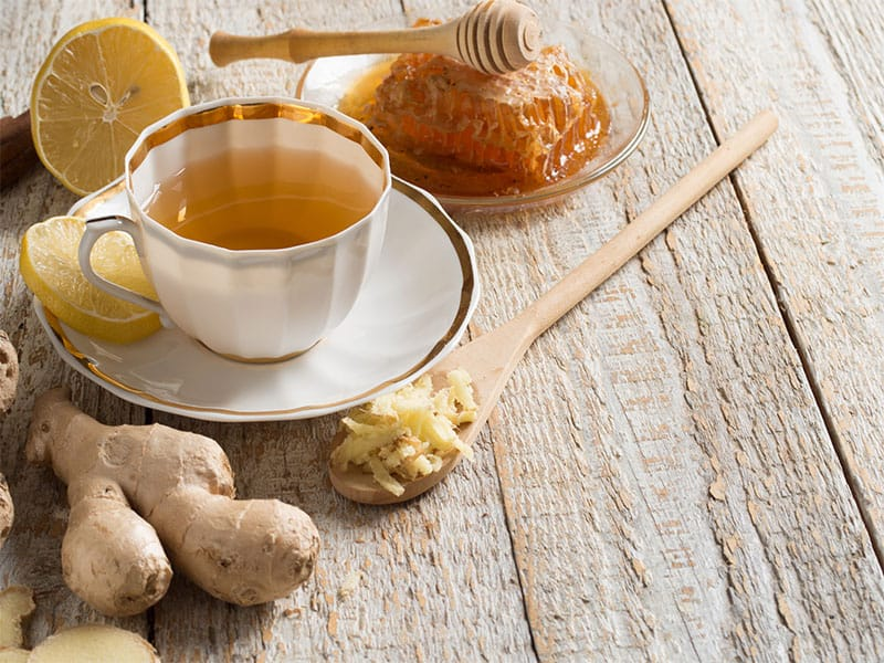 Ginger Tea Lemon