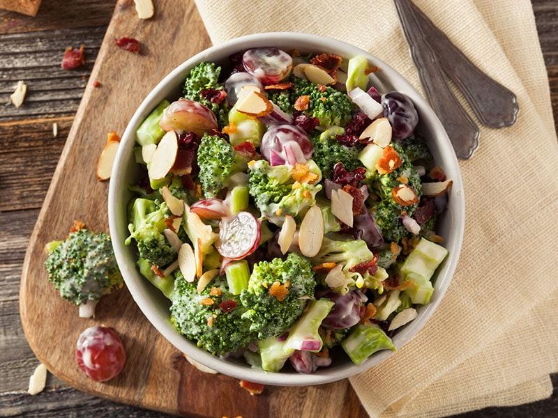 Green Broccoli Salad