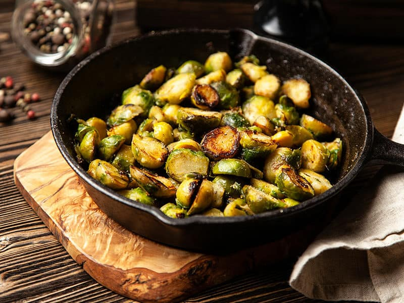 Grill Brussels Sprouts