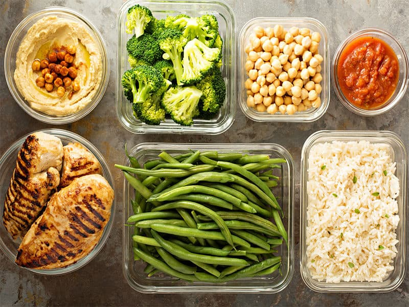 Grilled Chicken Meal Prep