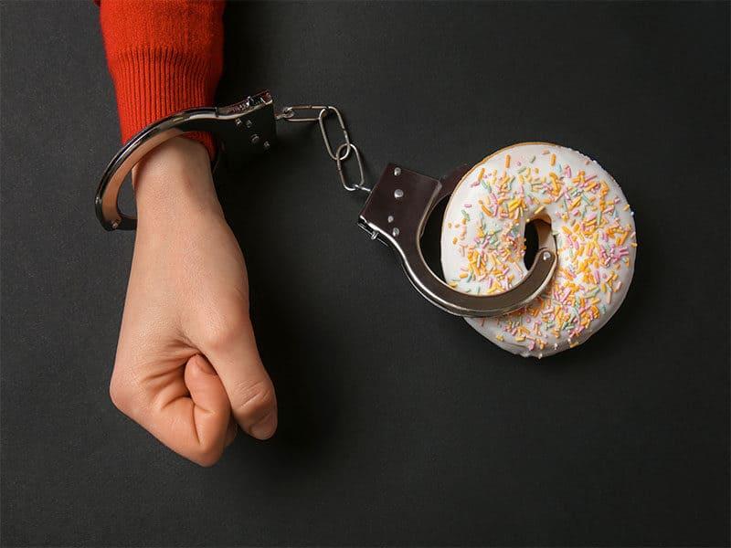 Handcuffed Tasty Doughnut
