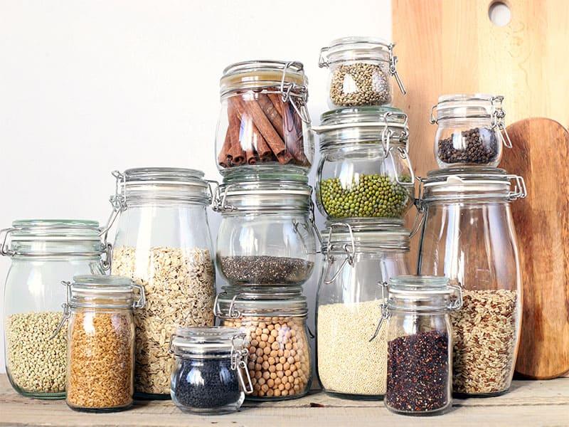 Healthy Jars Cereals Seeds