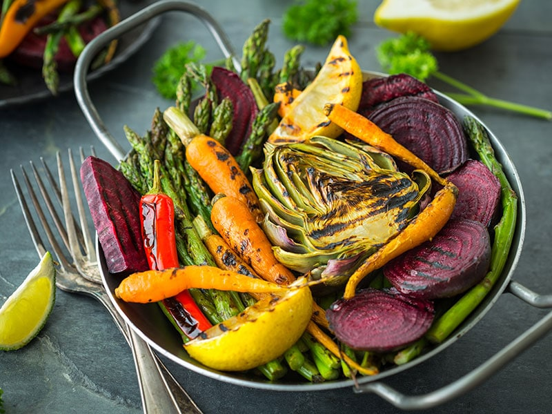 Healthy Roasted Vegetables