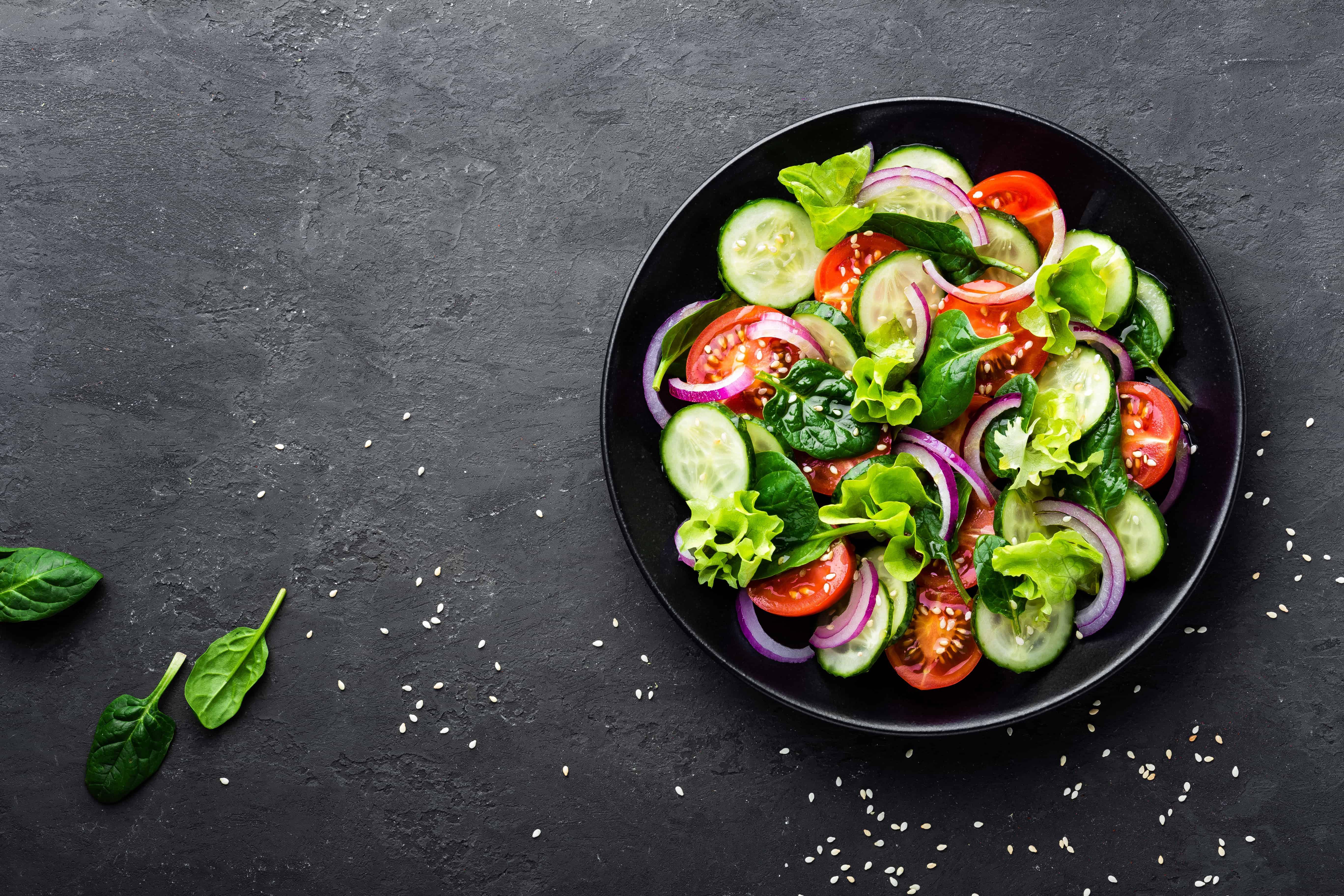 Healthy Vegetable Salad Fresh