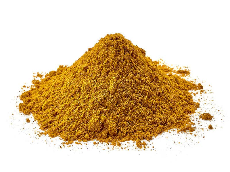 Heap Of Cumin Powder