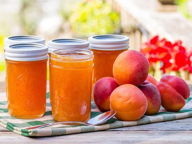 Jars Apricot Jam