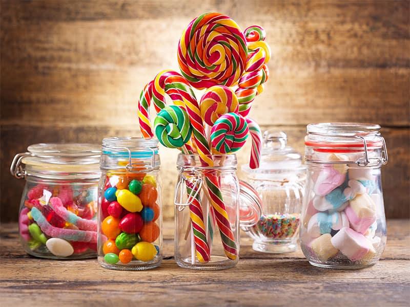 Jellies Lollipops Marshmallows