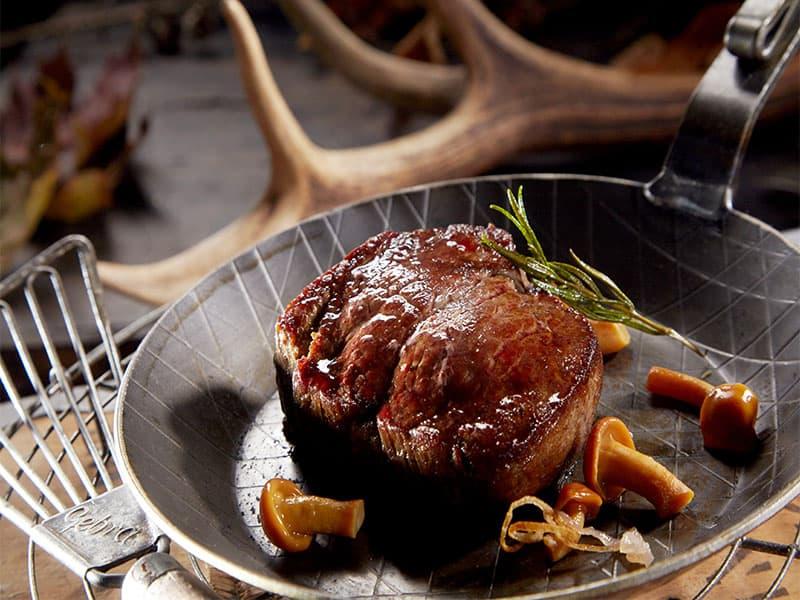 Juicy Grilled Wild Venison Steak