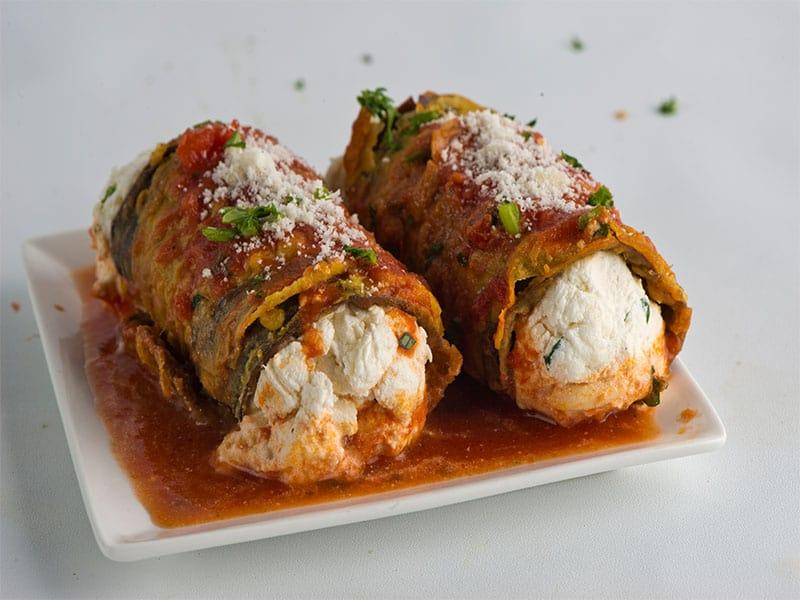 Manicotti Stuffed Spinach Ricotta