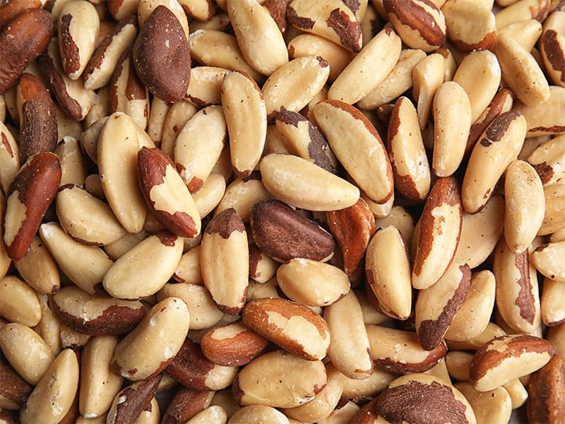 Many Delicious Brazil Nuts