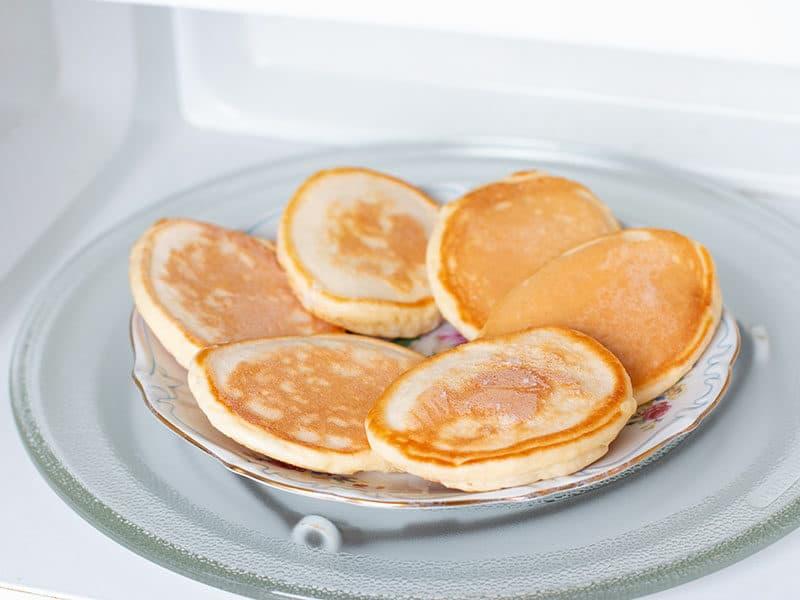 Microwave Keep Pancakes Warm