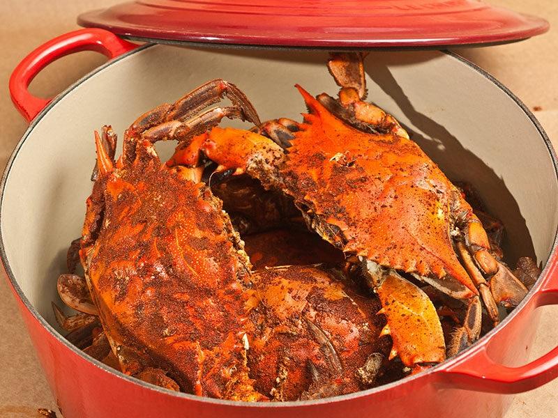 Old Bay Seasoning Crabs