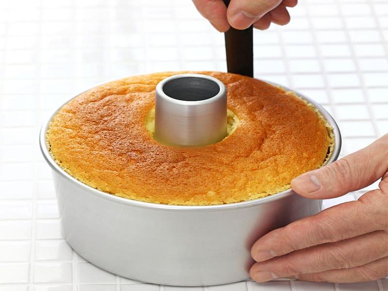 Orange Chiffon Cake Cooking