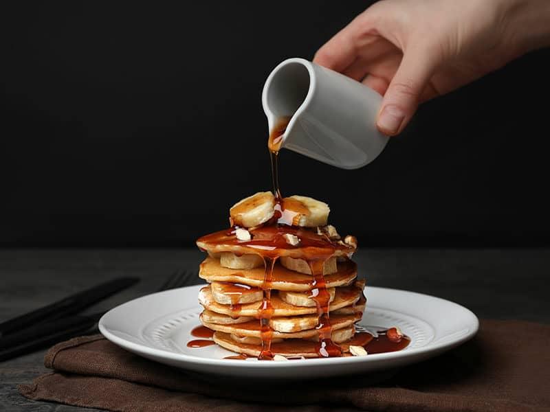 Pancakes Need Warm Syrup
