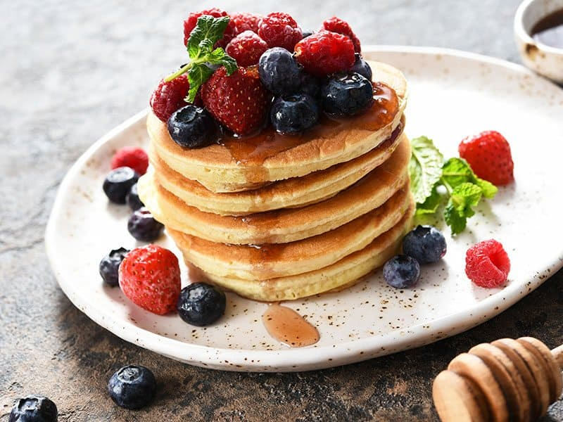 Pancakes Warm And Fluffy