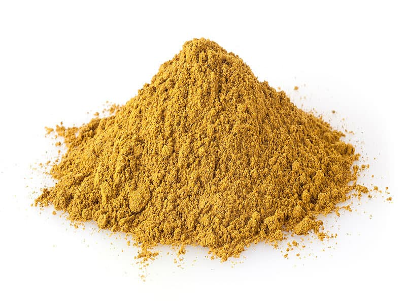 Pile Of Curry Powder
