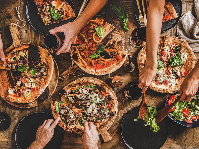 Pizza Party Dinner