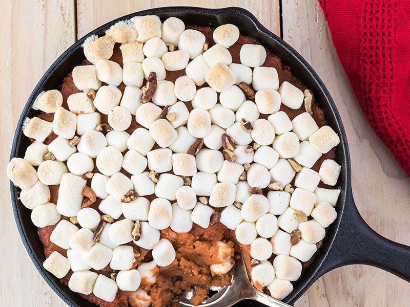 Potato Casserole With Marshmallows