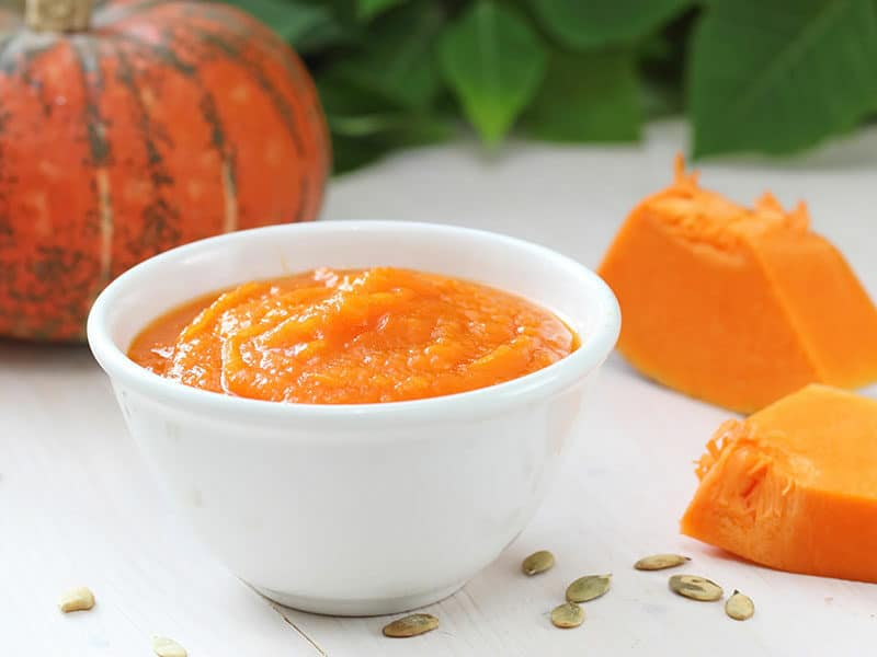 Pumpkin Puree Bowl