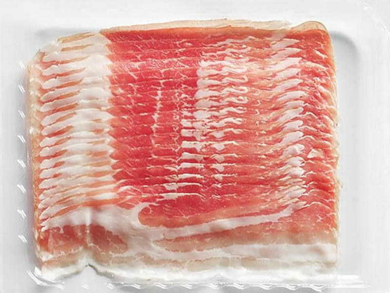 Raw Rasher Bacon Package