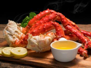 Reheat Crab Legs