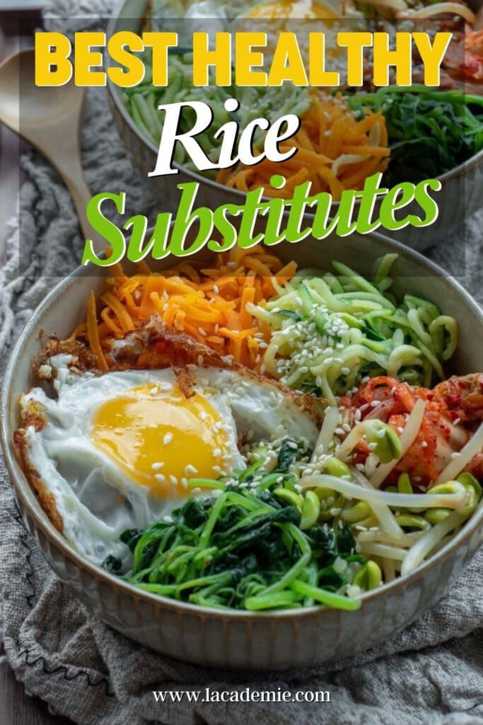Rice Substitutes