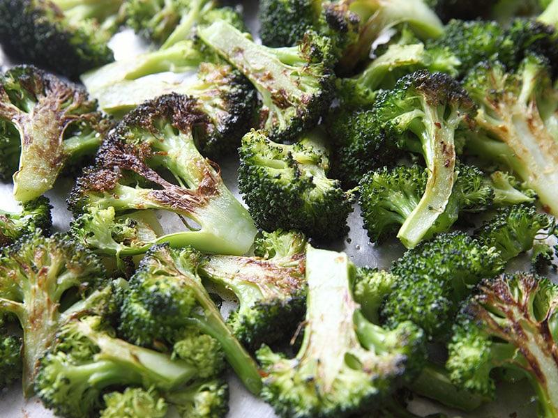 Roasted Broccoli Florets