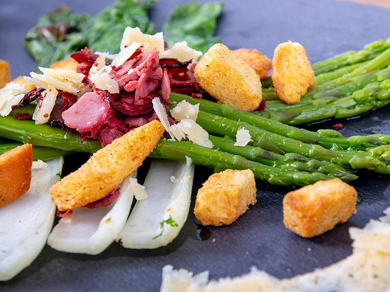 Salad Caesar Asparagus