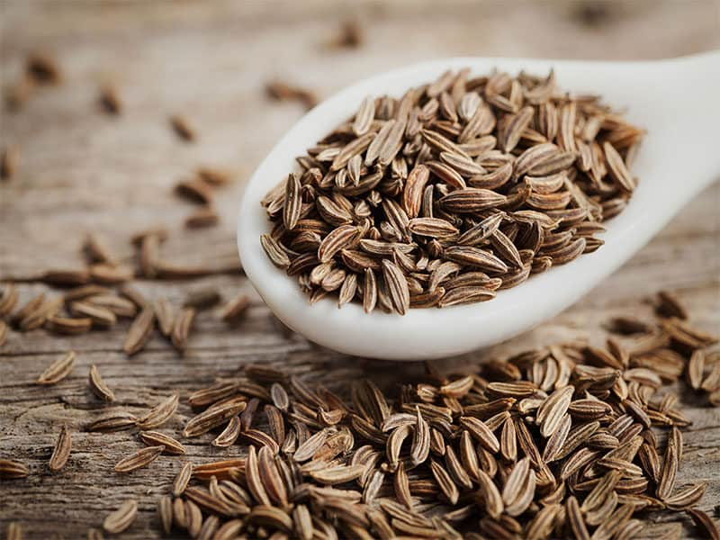 Seeds Caraway White Spoon
