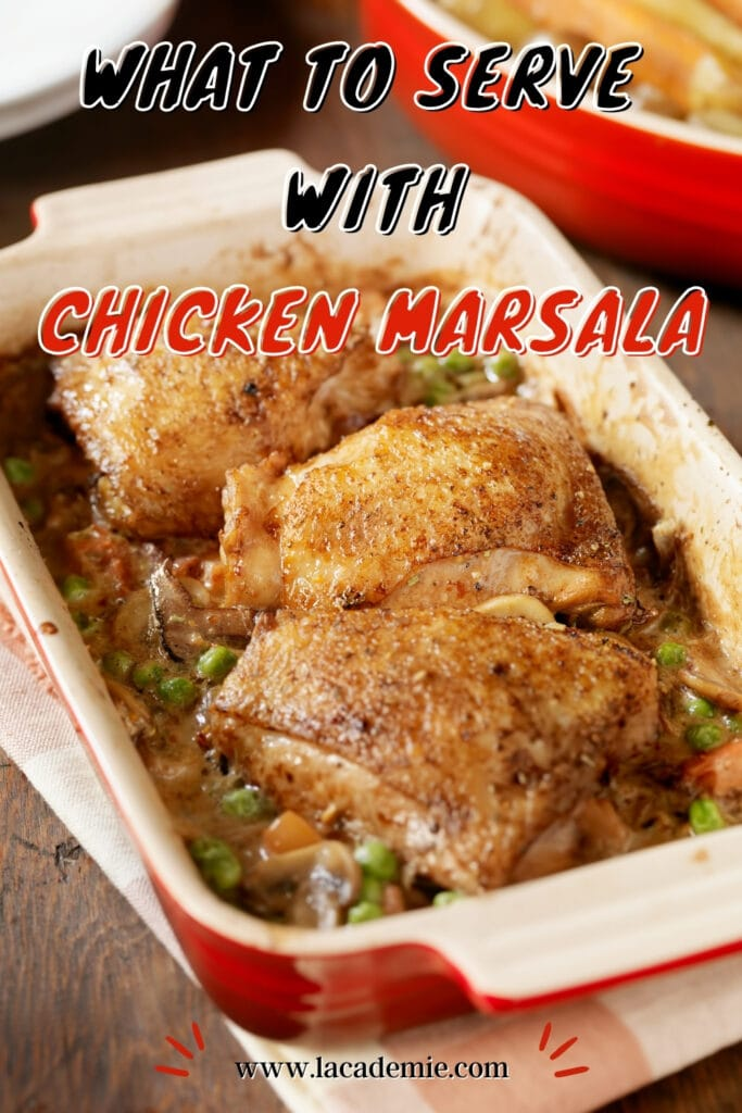 Serve With Chicken Marsala