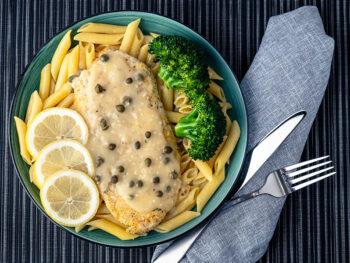 Serve With Chicken Piccata