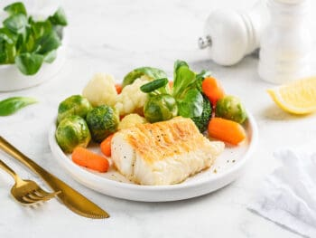 Serve With Cod Fish
