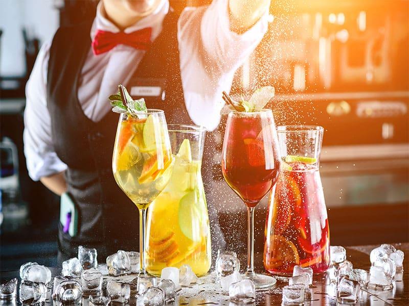 Skilled Bartender