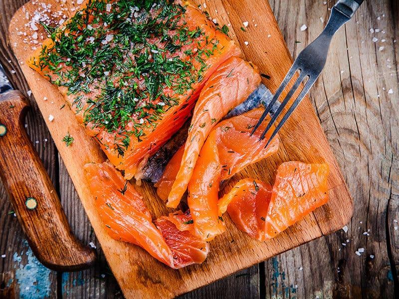 Smoked Salmon Vivid Color