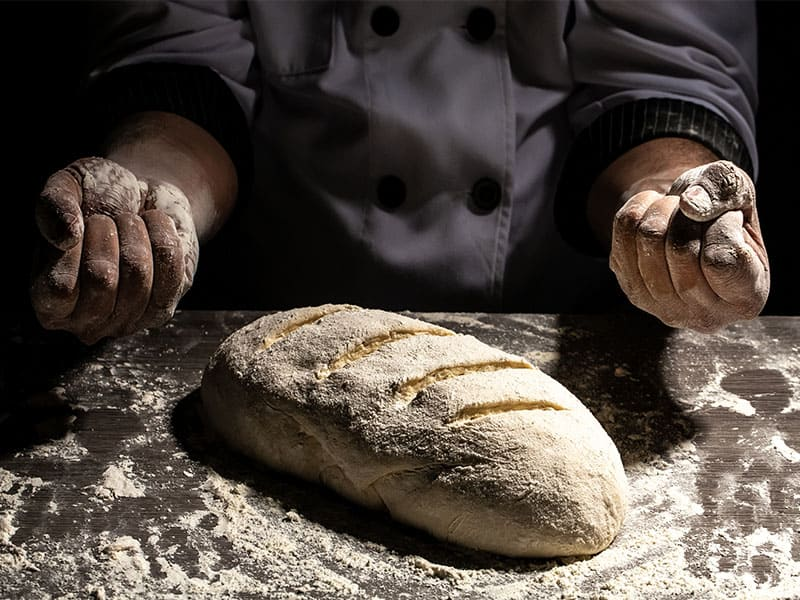 Strong Hands Knead Dough